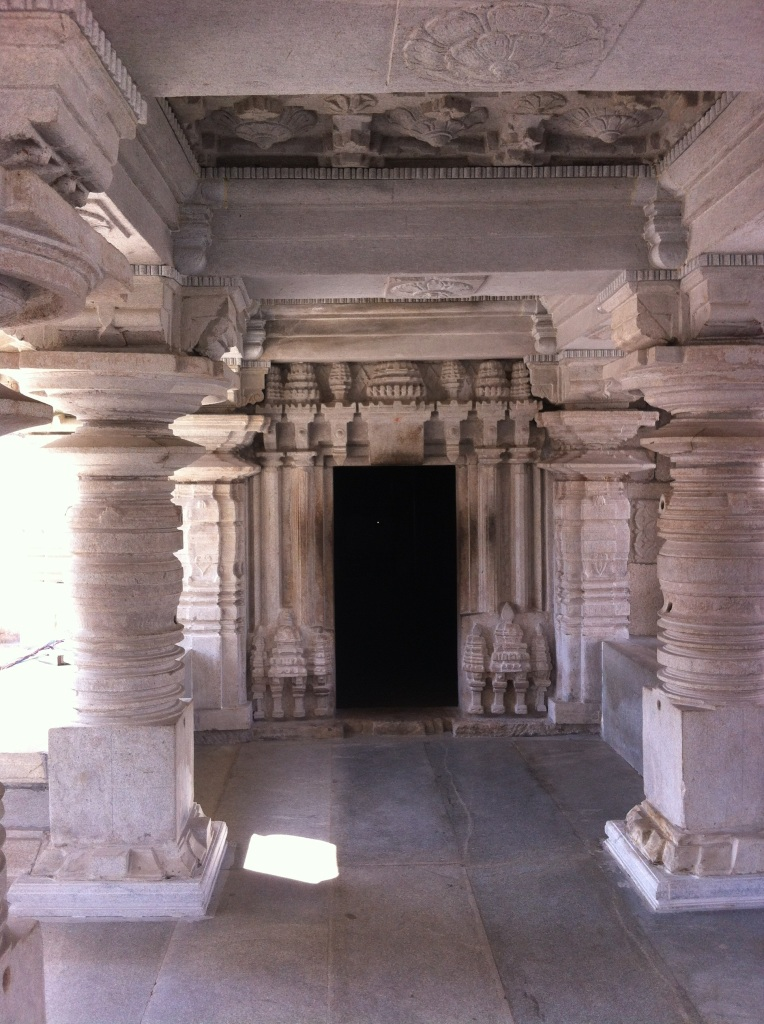 Pillars at the Venugopala Swamy Temple